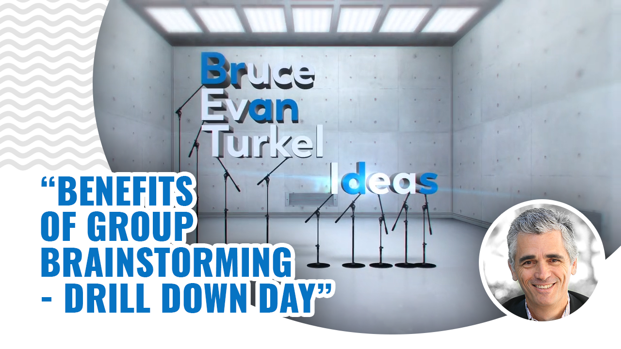 Benefits of Group Brainstorming – Drill Down Day