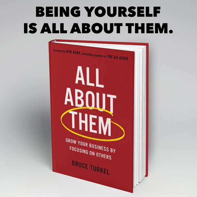 Image of All About Them Book. Concept of can you be yourself and be successful.