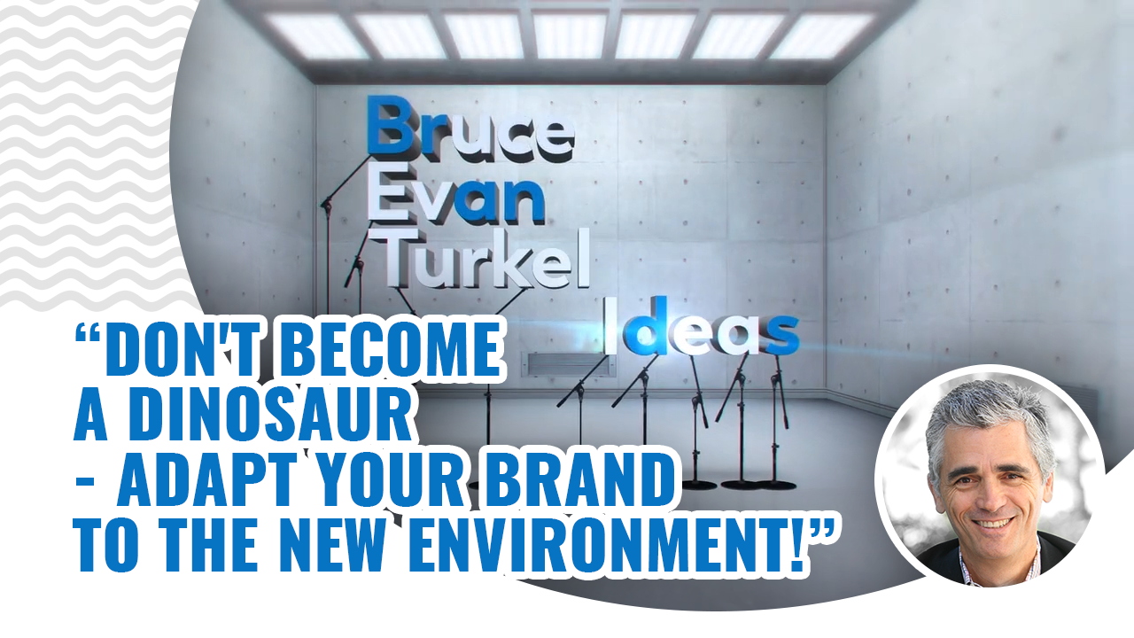 Monday Marketing Minutes – Don't Become a Dinosaur – Adapt Your Brand