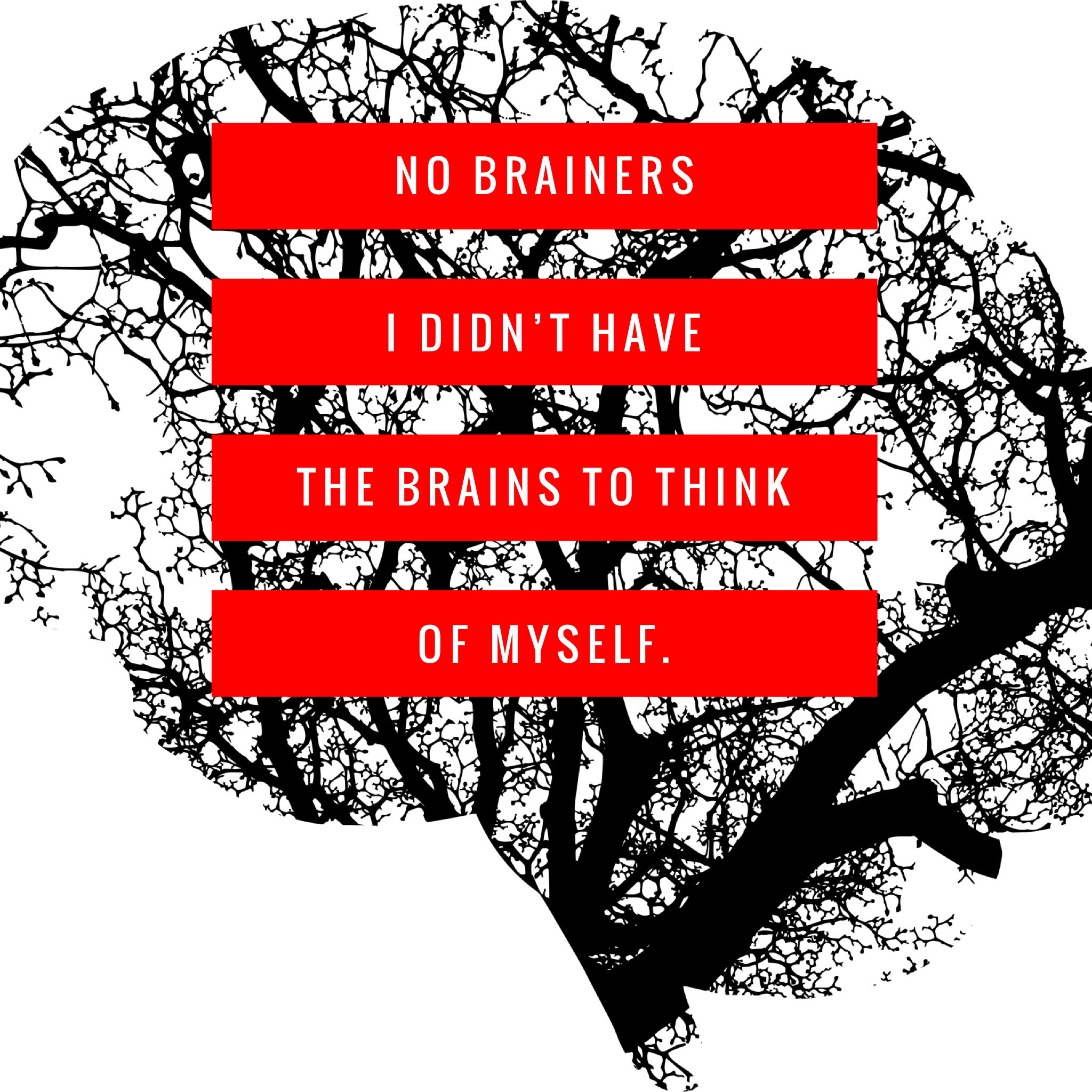 No Brainers I Didn't Have Enough Brains To Think Of