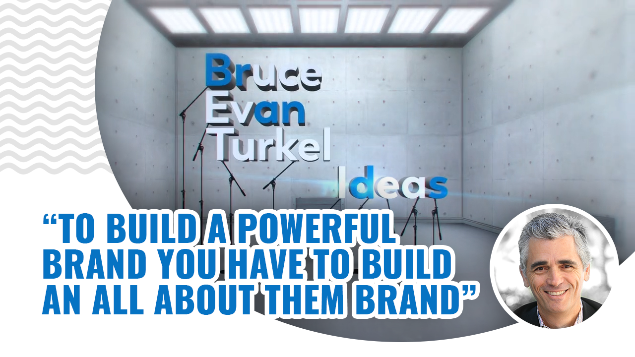 Monday Marketing Minutes - To Build a Powerful Brand You Have to Build an All About Them Brand