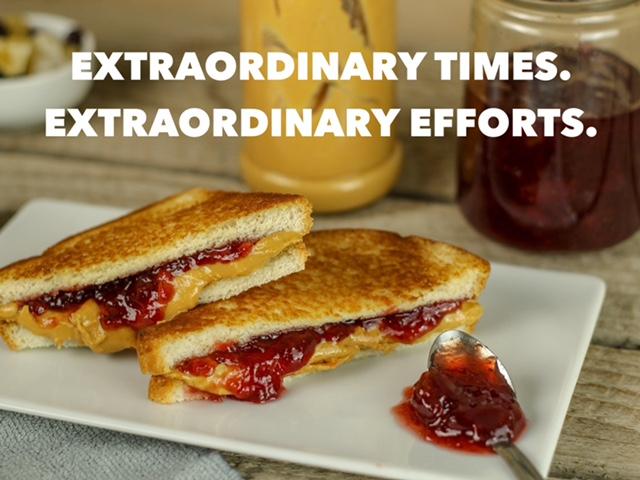 Extraordinary Times. Extraordinary Efforts.