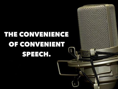 The Convenience of Convenient Speech.