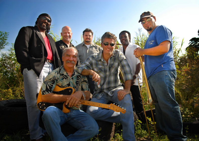 Bruce Turkel with Band